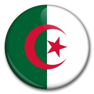 Státní vlajka - Alžírsko
