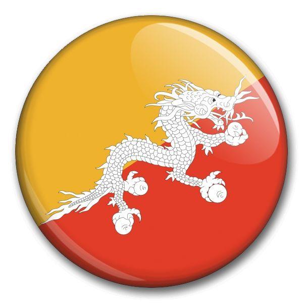 Státní vlajka - Bhůtán