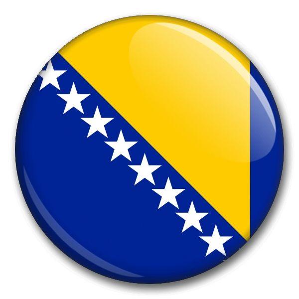 Státní vlajka - Bosna a Hercegovina