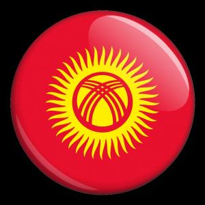 Státní vlajka - Kyrgyzstán