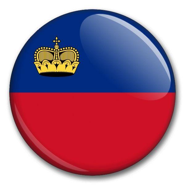 Státní vlajka - Lichtenštejnsko