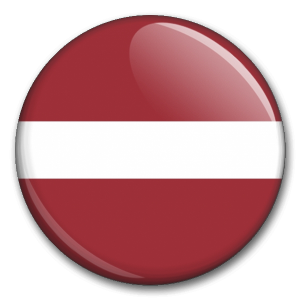Státní vlajka - Lotyšsko