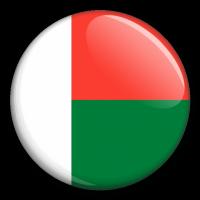 Státní vlajka - Madagaskar