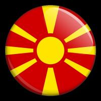 Státní vlajka - Makedonie