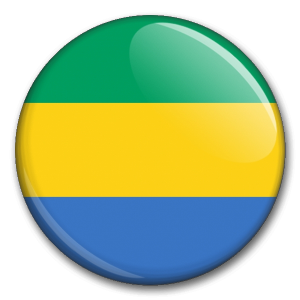 Státní vlajka - Gabon