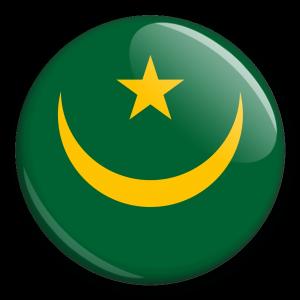 Státní vlajka - Mauritánie