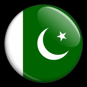 Státní vlajka - Pakistán