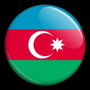 Státní vlajka - Ázerbájdžán