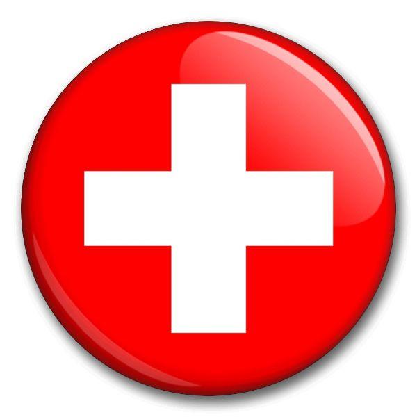 Státní vlajka - Švýcarsko
